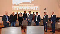 Welterbe-Partner unter sich – Öffentlichkeitsscheues Baden-Badener Rathaus – Baden bei Wien zu Gast in Baden-Baden