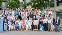"""Schüler des Charles de Gaulle-Gymnasiums erinnerten sich an das schöne Baden-Baden - Ausstellung """"Voyage à travers le temps 1945-1999"""""""