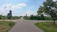 ADFC erinnert an verunglückte Fahrradfahrer – ADFC-Mitglied Oliver Haungs radelte zu den Unfallstellen