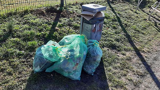 Kampf gegen illegale Müllentsorgung auch in Gernsbach – Neues Phänomen: Hausmüllentsorgung auf öffentlichen Plätzen