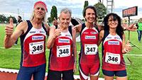 89-jähriger Baden-Badener Arne Haase schnellster Deutscher Ü 85 auf 5.000 Meter – Rekord-Flut für SCL Heel