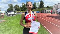 Silbermedaille für Baden-Badenerin im 200 Meter-Lauf – SCL Heel Sprinterin Corinne Gibilisco 25,3 Sekunden bei Landesmeisterschaft
