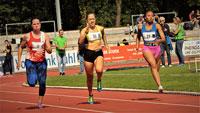 Schnelle 100-Meterzeiten im Aumatt-Stadion – Spannendes Begleitprogramm zu Süddeutschen Meisterschaften