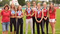 Eurodistrict-Meisterschaften Straßburg-Ortenau: Acht Mal Gold und sechs Mal Silber für SCL Heel-Athleten