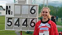 Noch ein Triumpf für SCL Heel - Leia Braunagel mit persönlicher-Diskus- Bestweite - Justus Baumgarten in Mannheim 400 Meter in 47,88 Sekunden