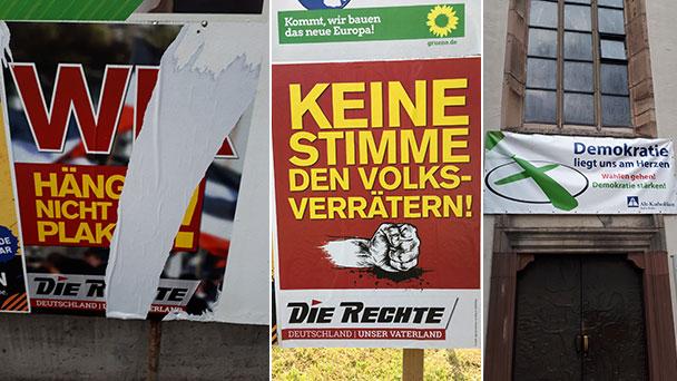 """Baden-Badener Stadtrat Werner Henn beklagt radikale Wahlwerbung – """"Widerliche Propaganda"""" – """"Diesem Abschaum Paroli zu bieten!"""""""