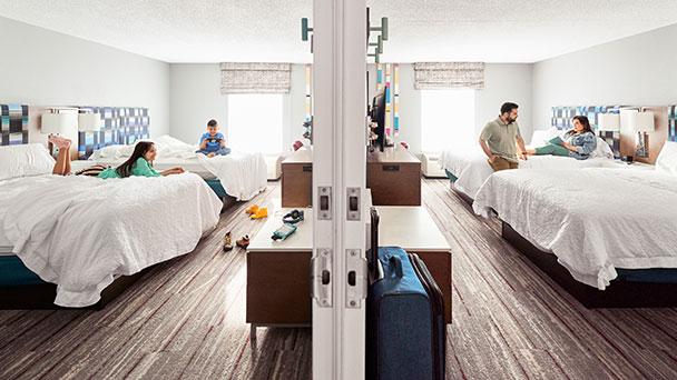 Umfrage von Hilton auch für Baden-Baden spannend –  Mehrgenerationenreise wird 2022 Trend