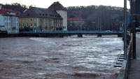 """Hochwasserschutz entlang der Murg –  Regierungspräsidium Karlsruhe und Gernsbach steigen in Umsetzung ein – Bürgermeister Christ: """"Abgestimmte Vereinbarung ist ein Riesenschritt"""""""