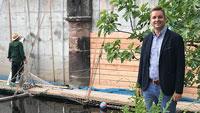"""Holzverkleidung für Wehr am Katz'schen Garten - Bürgermeister Christ: """"Im Sinne der Altstadt wertig gestaltet"""""""
