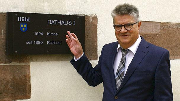Keine Spannung bei OB-Wahl am Sonntag in Bühl – Hubert Schnurr einziger Bewerber