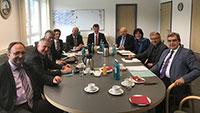Bürgermeister diskutierten PFC-Fall - Treffen im Rathaus in Sinzheim