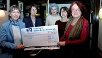 Spende für Cora Baden-Baden – Frauen Union aktiv gegen sexuellen Missbrauch