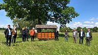 Energieversorger Badenova mit Herz für Bienen – Zusammenarbeit mit Imkern in der Ortenau