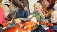 Orientierungstag an der Clara-Schumann-Musikschule am 3. Oktober