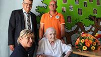 Älteste Bühlerin wurde 103 Jahre - In Haueneberstein aufgewachsen - OB Schnurr gratulierte Frieda Ullrich