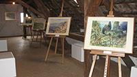Ein Künstler mitten aus Bühl – Schneckenburger-Ausstellung endet am Sonntag