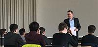 Blick in die Wirtschaft für MLG-Schüler – Wissenswertes vom Kooperationspartner Mercedes Benz Rastatt