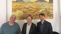 Kunstwerke im Gewerbepark Cité – Kulturaustausch zwischen Baden-Baden und Russland