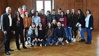 Bella Italia bei Bürgermeister Uhlig – Schülergruppe aus Moncalieri in Baden-Baden