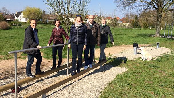 Sandweier wird zur Baden-Badener Fitness-Metropole – Erweiterte Fitnessstation freigegeben