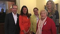 Baden-Badener Rathaus-Delegation auf Reisen – Kursaisoneröffnung in Karlsbad