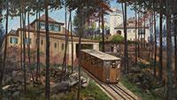 Eine Reise durch die Geschichte der Merkurbahn – Zurück ins Jahr 1913 mit dem Stadtmuseum