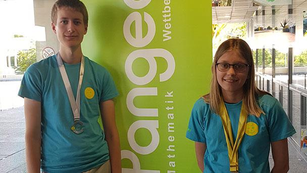 RWG-Schüler beim Deutschland-Finale des Pangea-Wettbewerbs – Carolina Jünger und Felix Markus erfolgreich