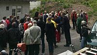 """Proteste in der Seelachstraße gegen Baden-Badener Rathaus – """"Wie an dieser Stelle überhaupt eine so umfangreiche Baugenehmigung erteilt werden konnte"""""""
