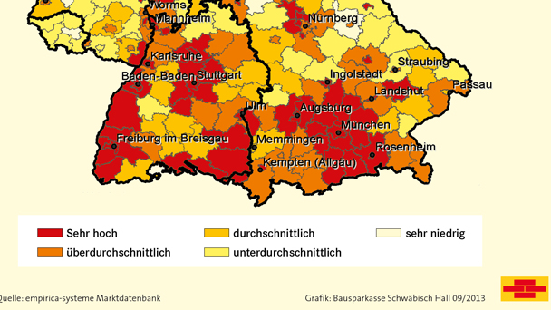 Baden Baden Auf Platz 78 In Deutschland Bausparkasse Schwabisch
