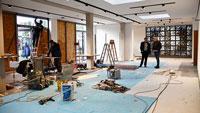 Arbeiten in der Gaggenauer Jahnhallen auf Hochtouren – Ab Samstag wieder nutzbar