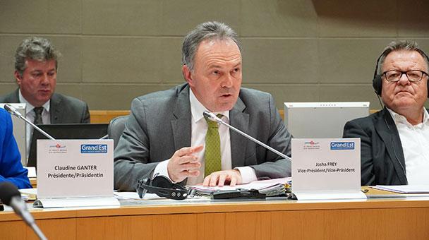 Grüner wird Präsident – Josef Frey übernimmt Oberrheinrat in 2020