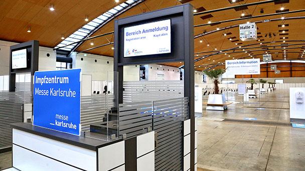 """8.400 Menschen in Karlsruhe geimpft – Mobile Impfteams bilden Schwerpunkt – Neue Termine ab Freitag """"freigeschaltet"""""""