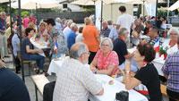 Gäste aus der Partnergemeinde Pignan besuchten Sinzheim