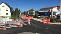 Beim Bauprojekt Karlsruher Straße in Haueneberstein geht es voran – Umleitungen bleiben wie sie sind