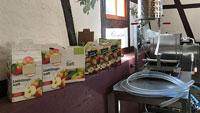 Große Ernte auf Streuobstwiesen in Gernsbach – Neue Pasteurisierungsanlage für 'Bag-in-Box'-System