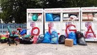 """Übervolle Container und Sperrmüllentsorgung unerwünscht – Bitte des DRK-Kreisverbands: """"Entsorgung der Altkleider auf einen späteren Zeitpunkt verlagern"""""""