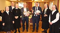 Besuch im Kloster – Präsente vom Oberbürgermeister