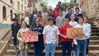 """Rauchfreie Päda-Klasse gewinnt bundesweiten Wettbewerb – """"Nächstes Jahr Schullandheim – da kann die Klasse etwas mit dem Geld anfangen!"""""""