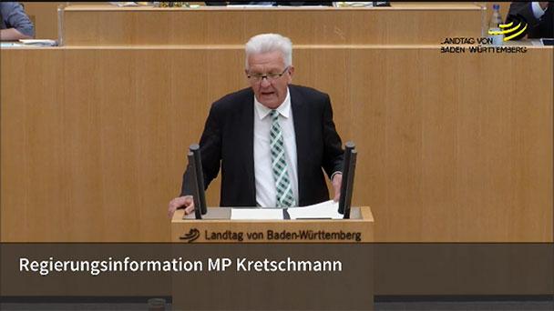 Kretschmann sagt Pressestatement ab – Kritik von CDU- und FDP-Politiker wegen zögerlicher Maßnahmen
