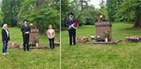 """Gedenken an sowjetische Kriegsopfer im Baden-Badener Lager """"Malschbach"""" – """"Heute dankbar für Verständigung und Freundschaft"""""""