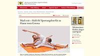 "Corona-Fitness-Programm von Kultusministerin Eisenmann – ""Wir bieten digitale Sportstunden an"""