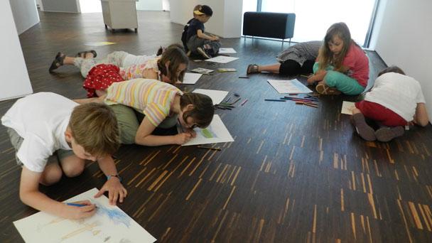 Museum LA 8 lässt Kinder den Schatten fangen