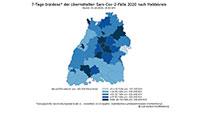 Corona-Lagebericht zu allen Stadt- und Landkreisen in Baden-Württemberg – Stand Donnerstag 15. Oktober 2020