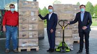 Rastatter Firma liefert Masken an das Landratsamt aus heimischer Produktion