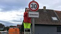Lärmaktionsplan in Rastatt – Geschwindigkeitsbeschränkung auf neun Straßenabschnitten