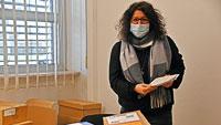 Gaggenau bereitet sich auf Landtagswahl vor – Im Büro von Tanja Riedinger stapeln sich die Kartons