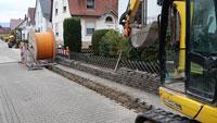 """""""Leitung in die Jahre gekommen"""" –  Stadtwerke verlegen Glasfaser in Bad Rotenfels"""