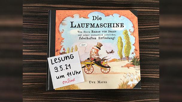 """Online-Lesung im Familienzentrum am Sonntag – Baden-Badener Autor und Illustrator Uwe Mayer mit """"viel Herzblut in seiner Lesung"""""""