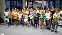 """Auch OB Christoph Florus war heiß – Abschluss-Party """"Heiß auf Lesen"""" – Schulnoten für 311 Bücher"""