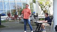 """Marc Marshall tröstet auch in Rastatt – """"Balsam für die Seele"""""""